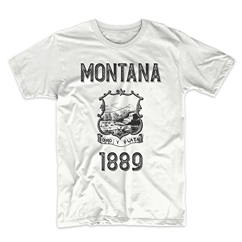 PatentPrints Montana Coat of Arms T Shirt by PatentPrints