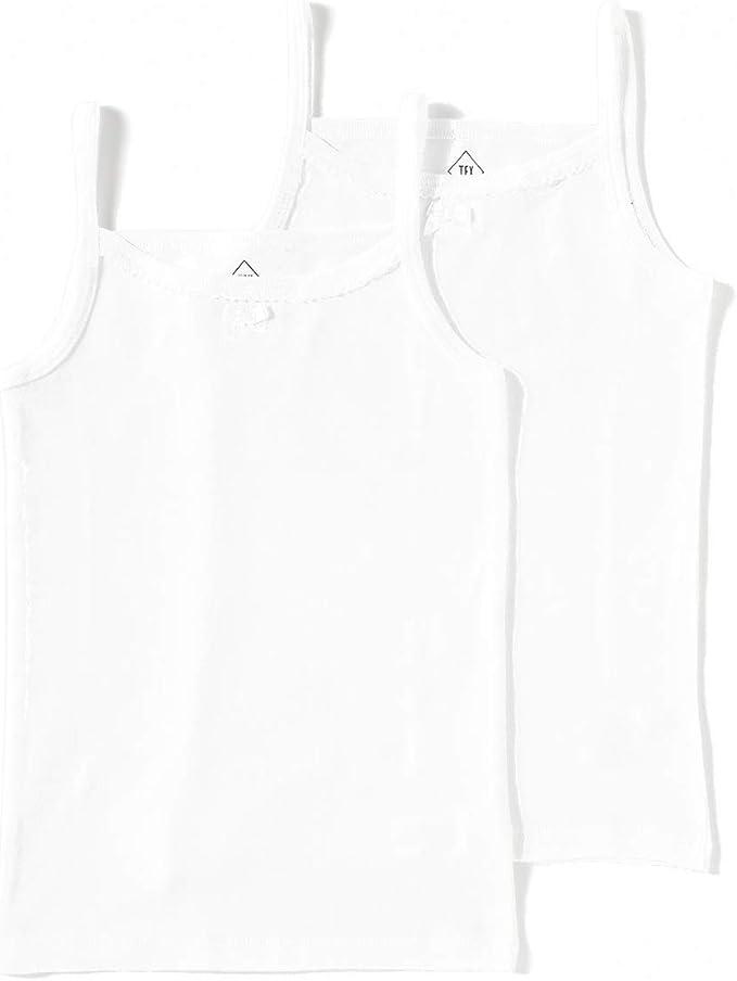 TEX - Pack 2 Camisetas Interiores Tirantes Algodón Sostenible: Amazon.es: Ropa y accesorios