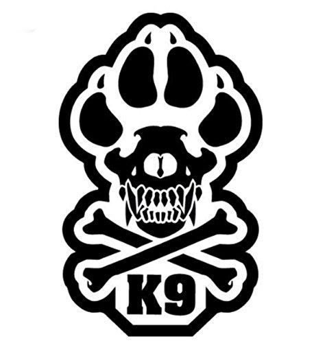 K9 Vinyl Decal (SWAT (Black)) (Swat Decals)
