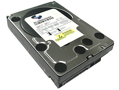 WL 2TB 64MB Cache 5400RPM SATA III (6.0Gb/s) (Low Power & Heavy Duty) 3.5'' Internal Hard Drive (PC, NAS & CCTV DVR) - w/ 1 Year Warranty by GoHardDrive