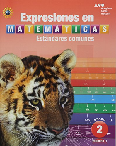 Houghton Mifflin Harcourt Spanish Math Expressions: Student Activity Book (Softcover), Volume 1 Grade 2 2013 por Houghton Mifflin Harcourt