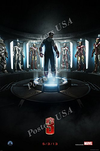 Posters USA - Marvel Iron Man 3 Movie Poster GLOSSY FINISH - FIL296 (24