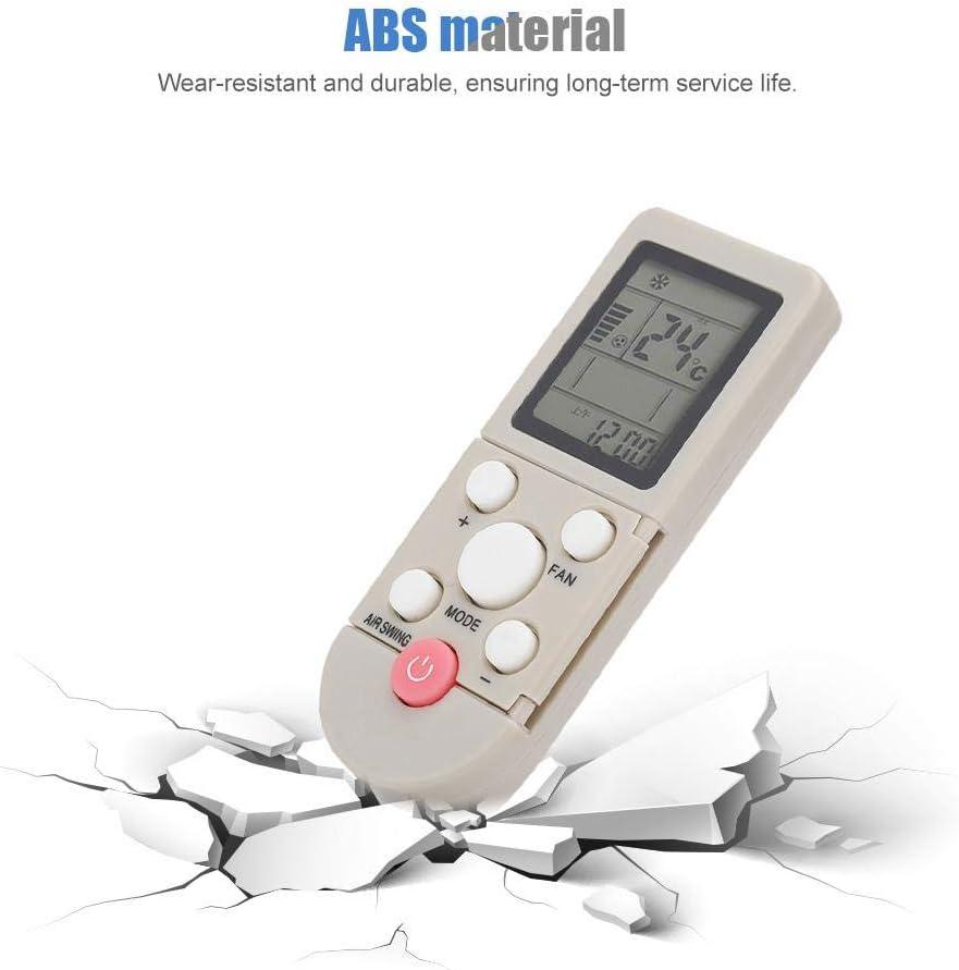 Control Remoto de reemplazo de Aire Acondicionado YKR-F//06 para AUX YKR-F//001 YKR-F//09R//010 F//06