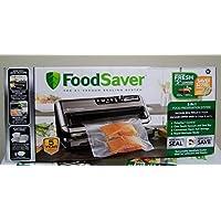 Sistema de conservación de alimentos 2a1 Foodsaver DAZA000088 FM5480, negro /plateado, reg
