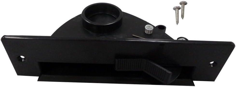 EFP Central Vacuum Automatic Dustpan Black