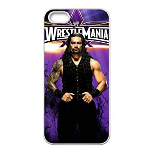 WWE iPhone 5 5s Cell Phone Case White Delicate gift JIS_231565