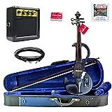 Bunnel Shredder Clearance Electric Violin (Jet Black)