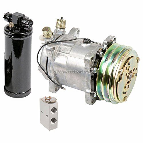 (AC Compressor w/A/C Drier & Exp For Renault Alliance & Encore - BuyAutoParts 60-82161RS New)