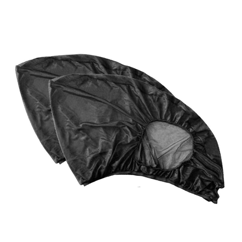 2PCs Voiture Fen/être Lat/érale Parasol De Voiture Anti Rideau De Moustique Voiture De Gaze Camping Autoconduite Equipement Couverture De Moustique Couverture De Voiture Parasol De Soleil
