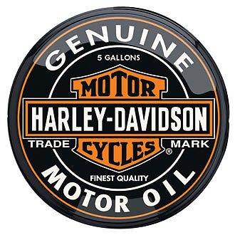 Harley-Davidson Oil Can Logo Bar Light