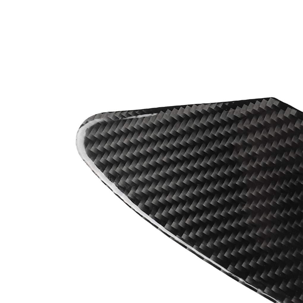 Zerama Replacement for Tesla Model x 2014-2019 Car Panel Stickers Automotive Carbon Fiber Cover Trim Decorations