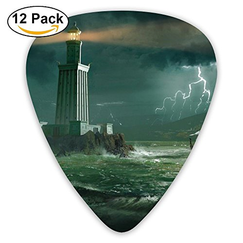 Guitar Picks Steer A Boat In Shore Medium Customized Complete Assorted 12 Pack