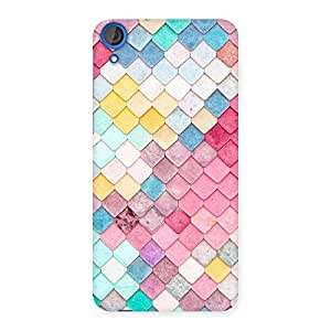 Special Colorfull Rocks Multicolor Back Case Cover for HTC Desire 820