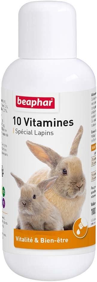 Beaphar - Complejo de 10 vitaminas para una Salud óptima, 100 ml