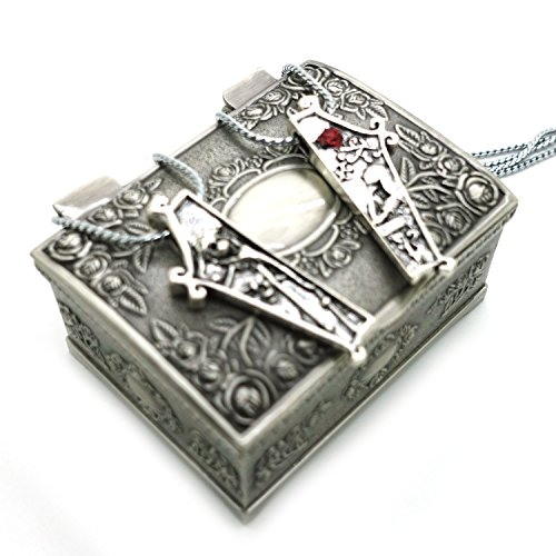 Ruimeng® The Nightmare Before Christmas Couple Necklace Set with ...
