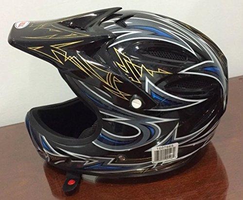 Wingsmarketshop Bell Motorcycle Helmet Large S Adult Off Road Helmet Goggles Gloves Gear Combo DOT Motocross ATV Dirt Bike MX Medium Off Road Motocross Dirt Bike - 56-59 Cm