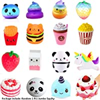 Jumbo Slow Rising Squishies Strawberry Banana Peach Charms Kawaii Squishies Cream Scented Toys For Kids and Adults