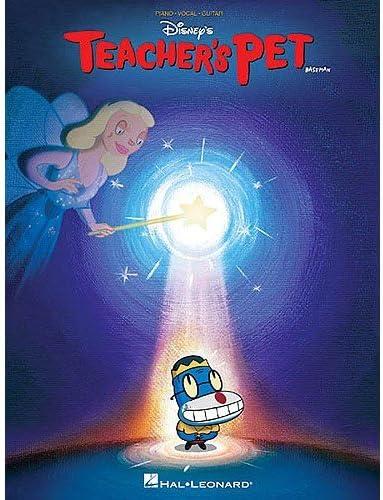 Walt Disney: Teachers Pet. Partituras para Piano, Voz y Guitarra(Pentagramas) : Amazon.es: Instrumentos musicales