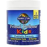 Garden of Life Primal Defense Kids, Natural Banana Flavor, 81g Powder