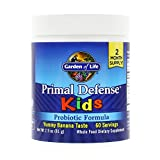 Garden of Life Whole Food Probiotic for Kids – Primal Defense HSO Probiotic Formula Kids Dietary Supplement, 2.9oz (81g) Vegetarian Powder