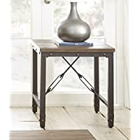 End Table in Antique Tobacco Finish
