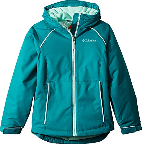 Columbia Little Girl's Alpine Action Ii Jacket, X-Small, Emerald