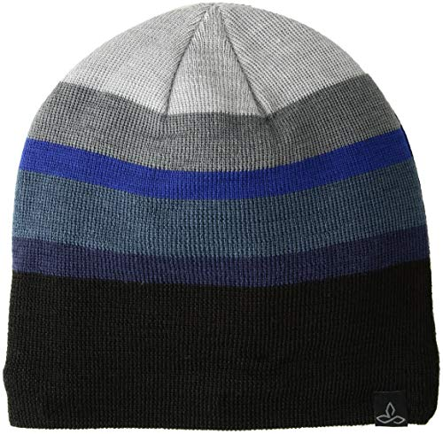 (prAna Men's Theo Beanie Cold Weather Hats, One Size, Ashley)