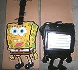 Spongebob Luggage Tag Travel Accessory%2...