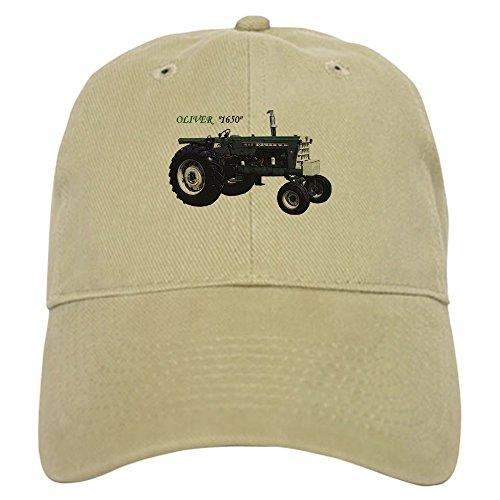 Oliver Baseball (CafePress - Oliver Tractors - Baseball Cap with Adjustable Closure, Unique Printed Baseball Hat)