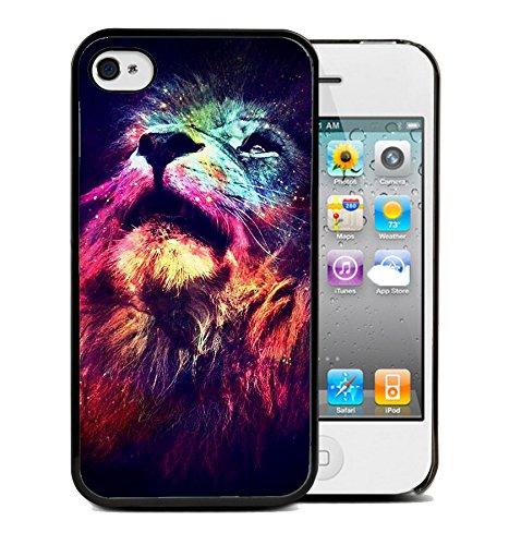 Coque silicone BUMPER souple IPHONE 5/5s - Lion tigre animaux 3 DESIGN case + Film OFFERT + choisir modele telephone ci dessous