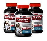 #10: Testosterone Booster Extra Strength - Super MACA Complex - Premium Herbal Supplements - l-arginine and yohimbine - 3 Bottles 180 Capsules