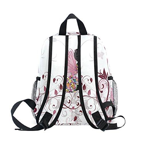 nbsp;School Fairy Girl ZZKKO Boys Kids nbsp;Bag nbsp;Backpack nbsp;for nbsp;Book nbsp;Girls Floral nbsp;Toddler TqwwO7X