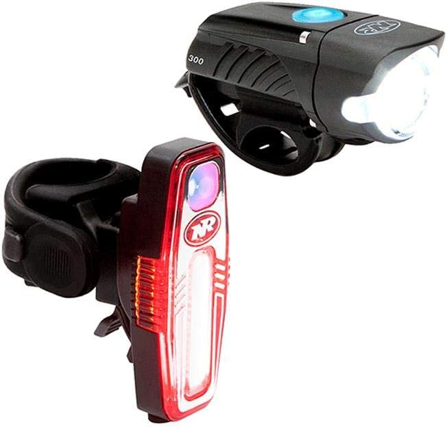 NiteRider Swift 300 Front Sabre 80 Rear Cycling Light Set