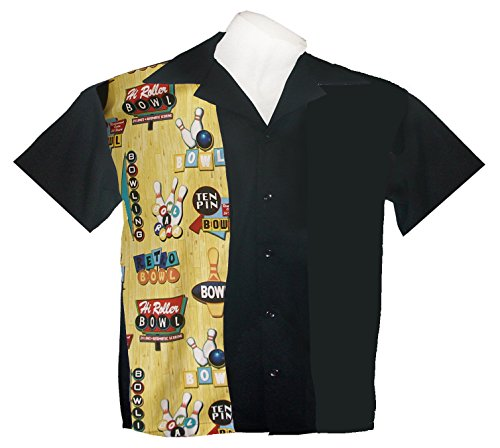 Tutti Boys Bowling Shirts Children Sizes Small 2T-3T Yrs, Medium 4-5 Yrs, Large 6-7 Yrs (Medium 4-5 ()