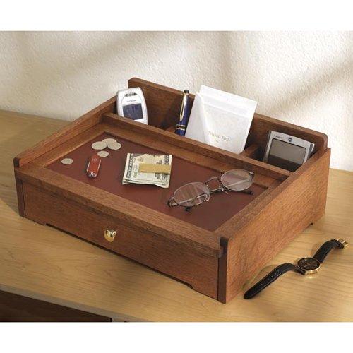 Dresser-top Valet: Downloadable Woodworking Plan