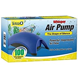Whisper Air Pump, 100-Gallon Aquariums by Tetra