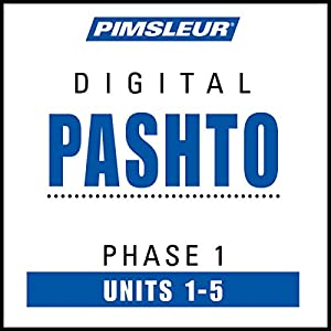 Pashto Phase 1, Unit 01-05 Audiobook