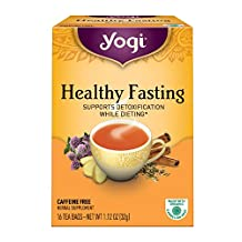 Yogi Teas Healthy Fasting, 16 Count (Pack of 6)