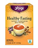 Yogi Tea, Healthy Fasting, 16 Count (Pack of 6), Packaging May Vary