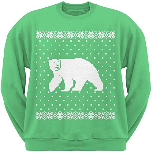 Big Polar Bear Ugly Christmas