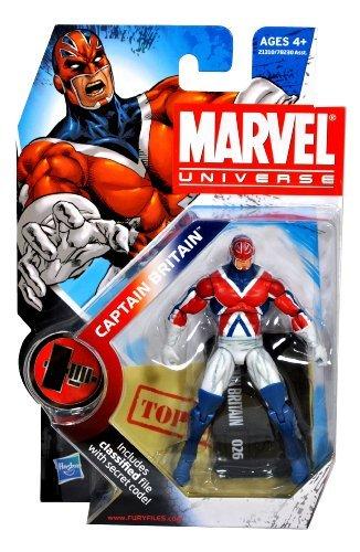 Marvel Universe 3 3/4 Inch Series 10 Action Figure Captain Britain -