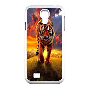 Yo-Lin case FXYL274196Powerful tiger art protective case For SamSung Galaxy S4 Case