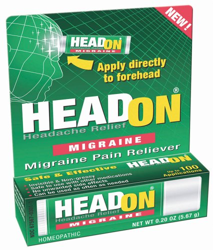 HeadOn - Apply Directly to Forehead Migraine Relief .2 oz (5.67 g)