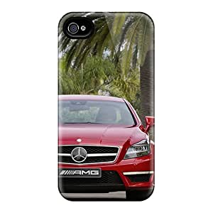 High Quality Shock Absorbing Case For Iphone 4/4s-cls63 Amg