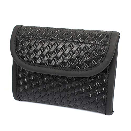 LytHarvest Latex Flat Glove Pouch for Duty Belt, Fold Out Basketweave Glove Pouch