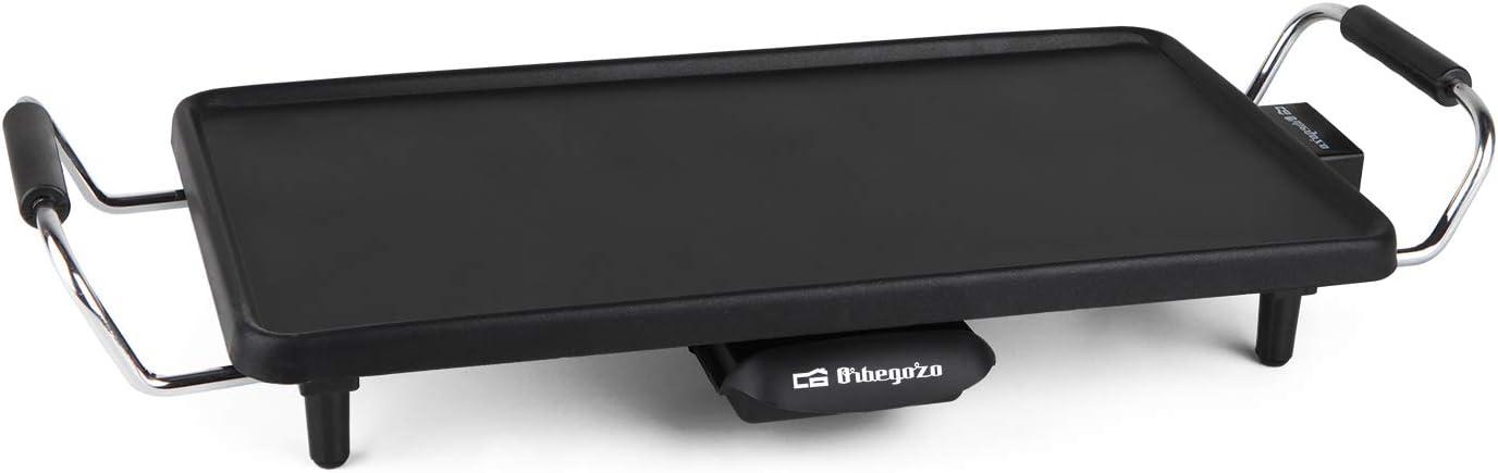 Orbegozo TB2203 TB 2203-Tabla de asado, 220 x 430 mm, 2000 W, Negro
