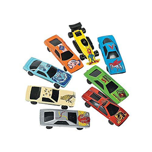 Fun Express - Die Cast Race Car Assortment(30pc) - Toys - Vehicles - Cars & Boats & Racers - 30 Pieces