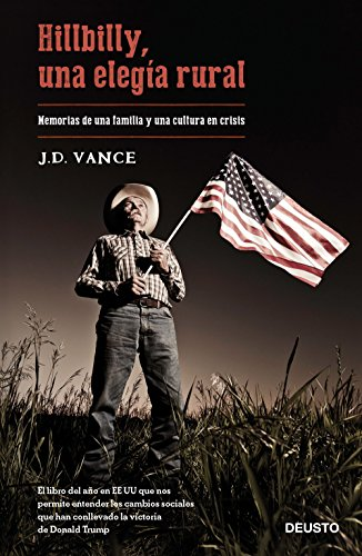Book cover from Hillbilly, una eleg�a rural by J. D. Vance