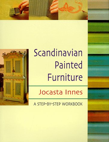 Scandinavian painted furniture a step by step workbook scandinavian home decor olivia decor Swedish home furniture amazon