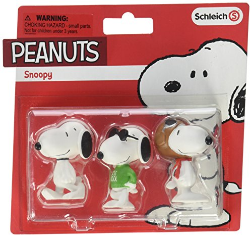 Schleich North America Snoopy Toy Figure - With Snoopy Sunglasses